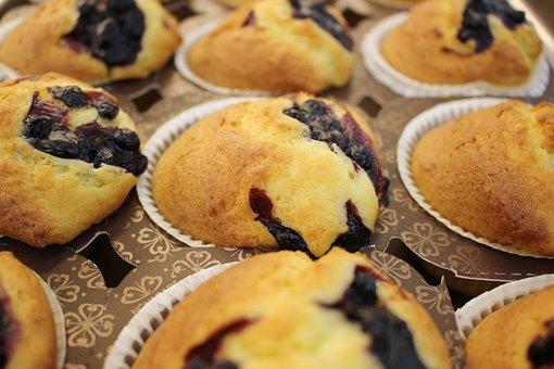 Muffins, Chocolate, Chocolate Muffins, Pastry, Sweet