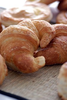 Croissant, Background, Delicious, Tasty
