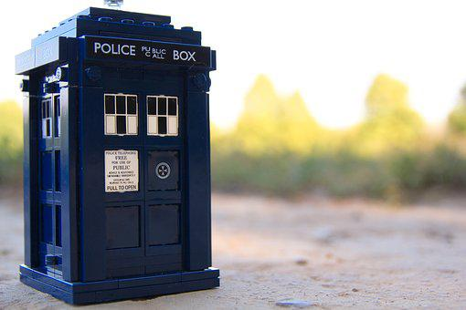The Tardis, Doctor Who, London, Bbc, Science Fiction