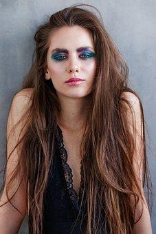 Makeup, Color, Girl, Beauty, Fashion, Style, Portrait