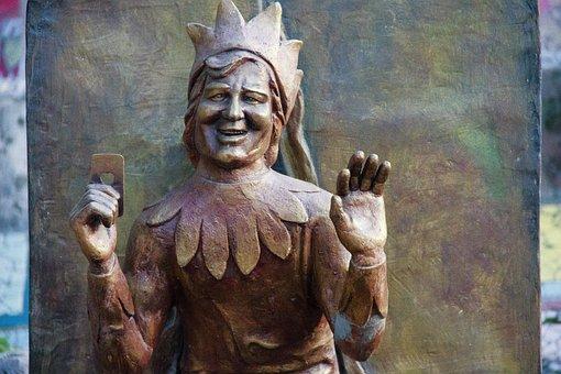 Jack, Park, Sculpture, Statue, Art, Sky, Figure