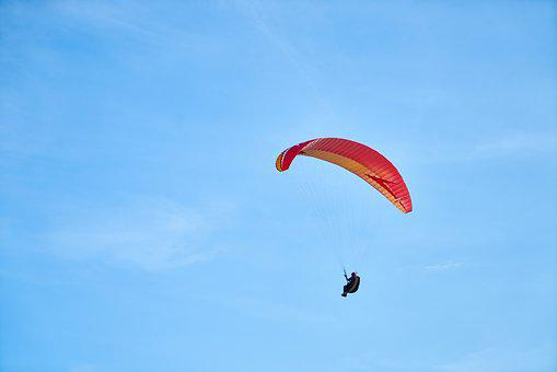 Parachute, Fly, Paragliding, Sports, Freedom, Adrenalin