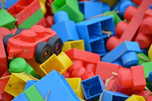Lego, Brick, Plastic, Games, Children's Games