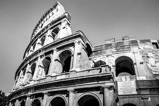 Coliseum, Rome, Italy, History, Historical Building