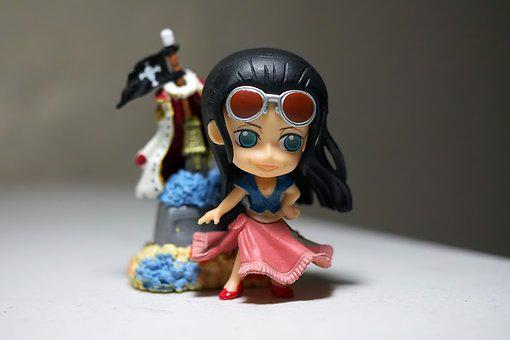 Toy, Figurine, Small, Cute, Girl, Young, Lady, Female