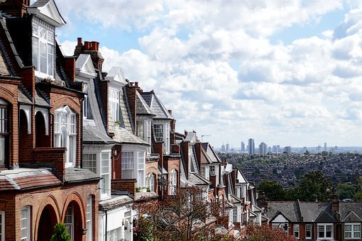 London, Suburb, Houses, Apartments, Residential