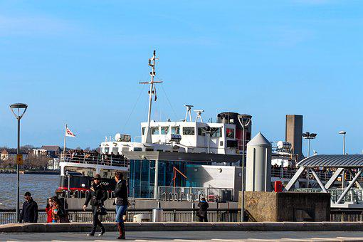 Liverpool, Ferry Cross The Mersey, Ferry, Mersey, River