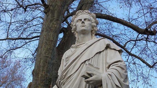 Statue, Friedrich Schiller, Monument To Schiller