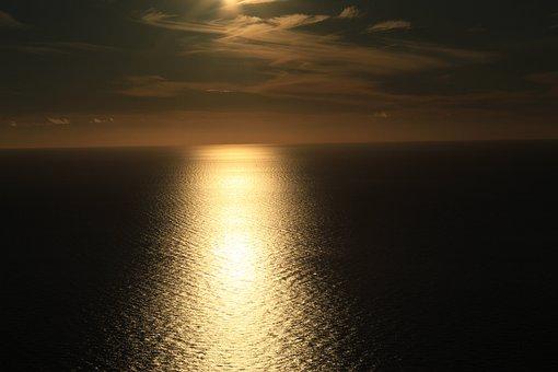 Dusk, Sunset, Sky, Evening, Landscape, Mood, Water