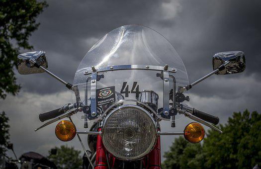 Motorcycle, Chrome, Transport