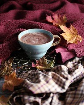 Autumn, Coffee, Leaves, Mug, Drink, Nature, Hot