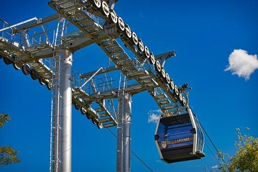 Cable Car, Technology, Modern, Gondola, Masts, Nature