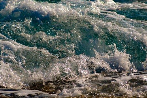 Wave, Splash, Wind, Spray, Foam, Nature, Splashing, Sea