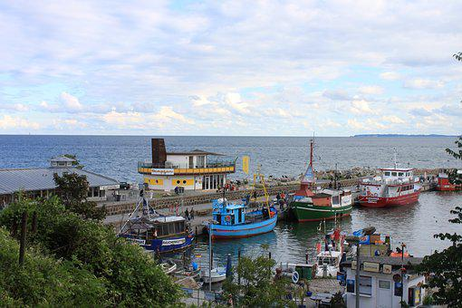 Fishing Port, Sassnitz, Rügen, Baltic Sea, Sea