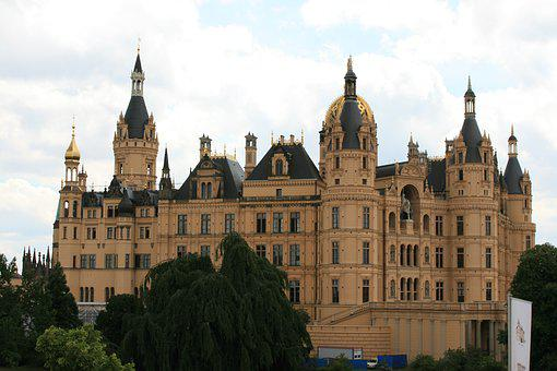 Schwerin, Castle, State Capital