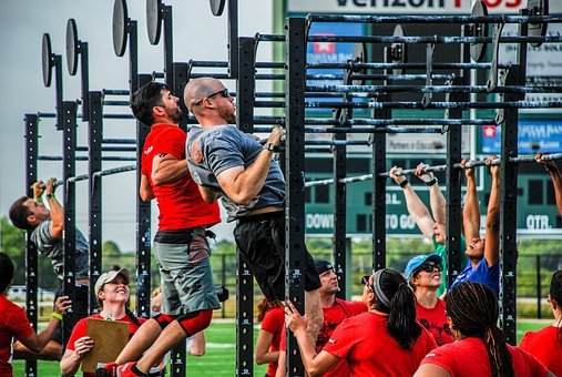 Crossfit, Gym, Workout, Fitness, Exercise, Training