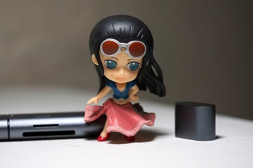 Young, Lady, Woman, Girl, Toy, Figurine, Japanese