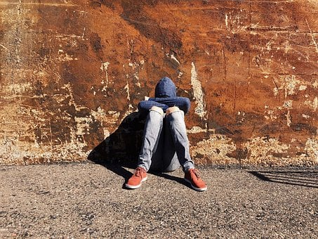 Youth, Sad, Young, Boy, Alone, Teen, Depressed, Unhappy