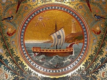 Marseille, Notre-dame-de-la-garde, Basilica, Medallion