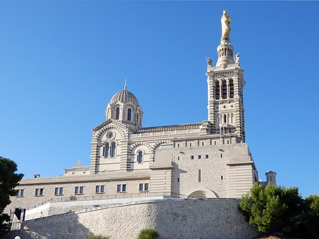 Marseille, Good Parent, Our-lady -of-the-guard, Church