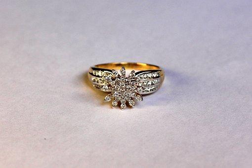 Gift, Wedding, Ring, Diamond, Engagement, Design