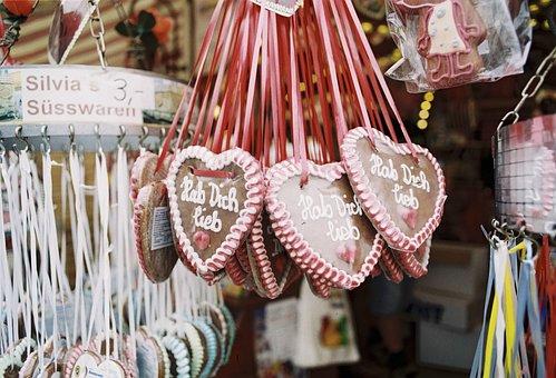 Gingerbread Heart, Oktoberfest, Folk Festival