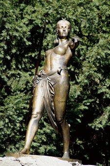 Goddess, Goddess Of The Moon, Hunting, Girl, Woman