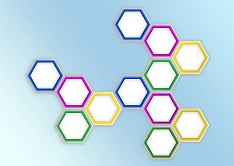 Honeycomb Structure, Combs, Benzene Rings