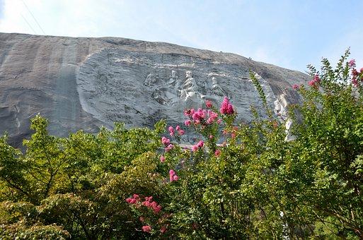 Stone Mountain Georgia, Memorial, Landmark, Tourism