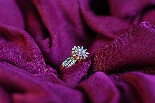 Ring, Wedding, Diamond, Gold, Marriage, Romantic