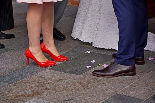 Shoes, Wedding, Fashion, Dress, Marriage, Woman