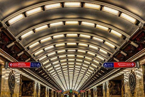 Metro, Railway Station, Station, Underground
