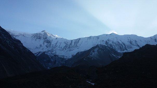 Mountain, Himalayas, Nepal