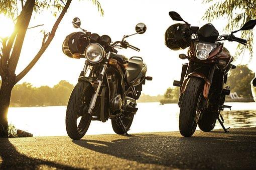 Motorcycles, Park, Vehicle, Parking, Leisure, Fun