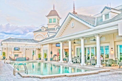 Resort, Rooftop Bar, Pool, Vacation, Summer, Recreation