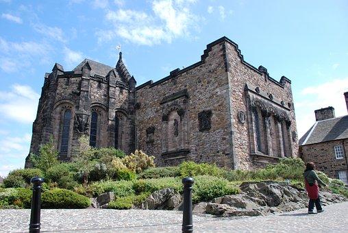 Castle, Scotland, Edinburg