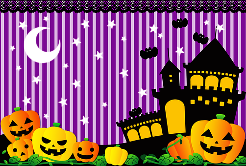 Halloween Background, Spooky, October, Pumpkin