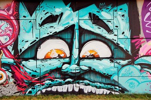 Graffiti, Streetart, The Walls Of The, The Art Of