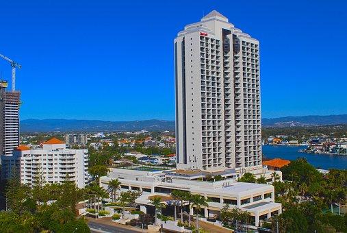 Tourism, Hotels, Surfers Paradise, Hotel, Summer