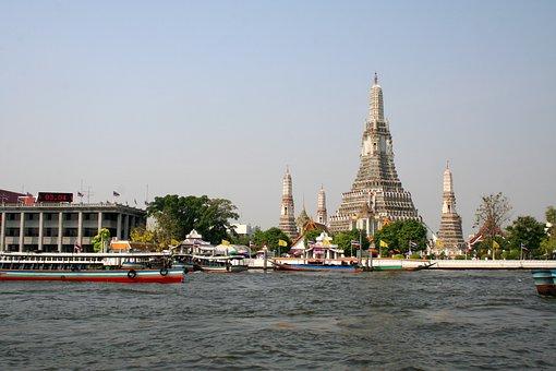 Temple, Thailand, Bangkok, Wat Arun, Buddhism, Asia