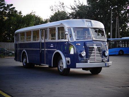 Bus, Nostalgia, Retro, Vehicle, Travel, Veteran