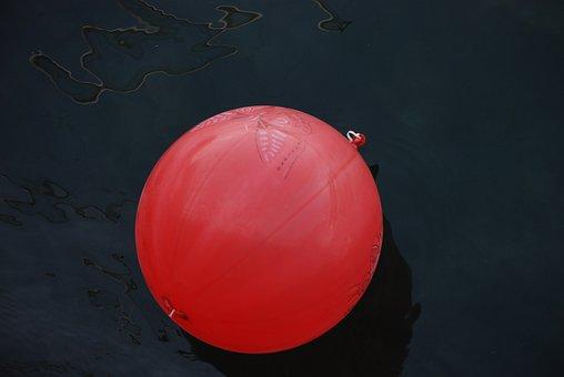 Balloon, Water, Tale, Reflection