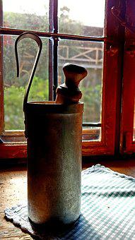 Farmhouse, Old, Antique, Window, Beer Warmer