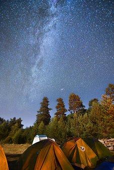 Milkway, Samanyolu, Uzunpozlama, Star, Yıldız, Camp