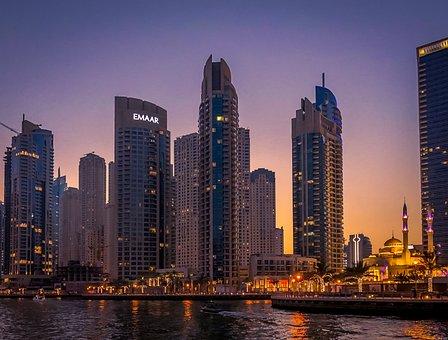 Dubai, City, Architecture, Sky, Building