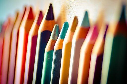 Pencils, Coloring, Art, Colorful, Color, Creative