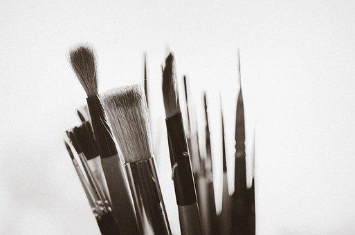 Paintbrush, Art, Artist, Artistic, Creative, Brush