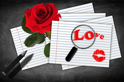 Card, Dedicated, Love, Paper, To Write, Romantico