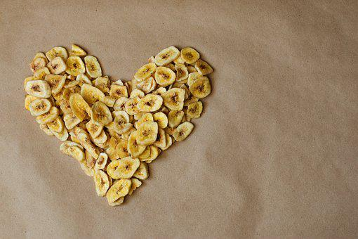Banana, Dried, Chips, Food, Fitness, Health, Diet