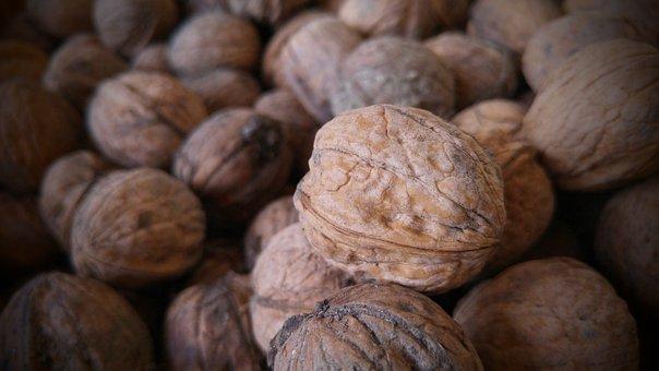 Walnut, Autumn, Crop